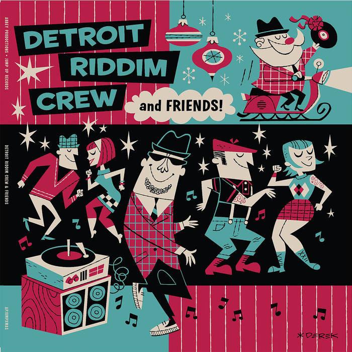 Detroit Riddim Crew/AND FRIENDS(XMAS) LP