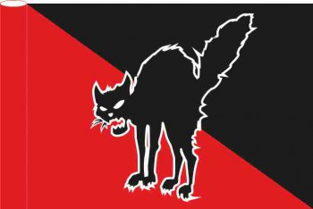 ANARCHOCAT FLAG