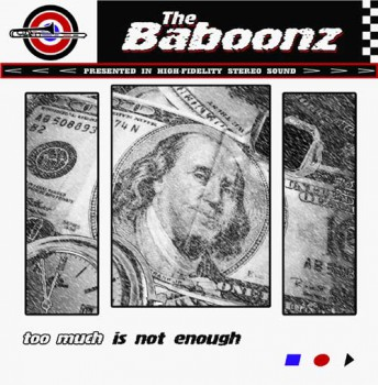 BABOONZ - To much is not enough CD
