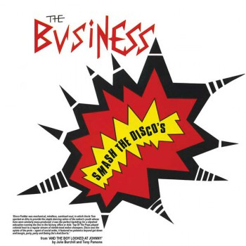 THE BUSINESS SMASH THE DISCOS EP VINYL ROT