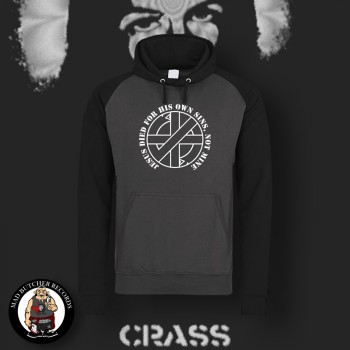 CRASS JESUS DIED FOR HIS OWN SINS CONTRAST HOOD