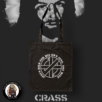 CRASS JESUS DIED FOR HIS OWN SINS BAG