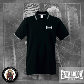 FATAL BLOW CARDIFF POLO Black / M
