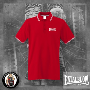 FATAL BLOW CARDIFF POLO 3XL / ROT