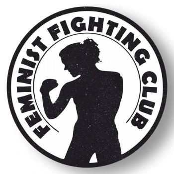 FEMINIST FIGHTING CLUB PVC AUFKLEBER