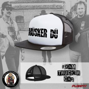 HÜSKER DÜ LOGO BANNER MESH CAP