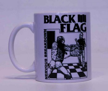 BLACK FLAG NERVOUS BREAKDOWN KAFFEEBECHER