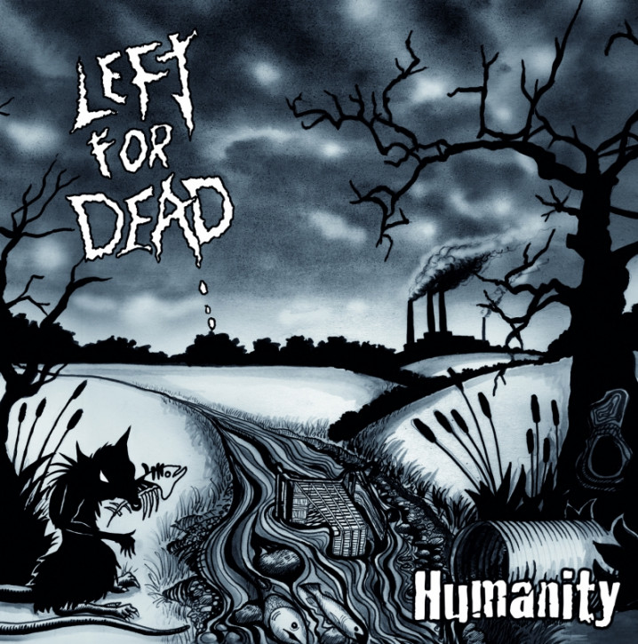 LEFT FOR DEAD - Humanity - LP