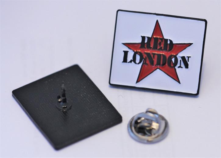 RED LONDON PIN