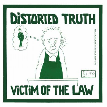 DISTORTED TRUTH VICTIM OF THE LAW EP VINYL GREEN