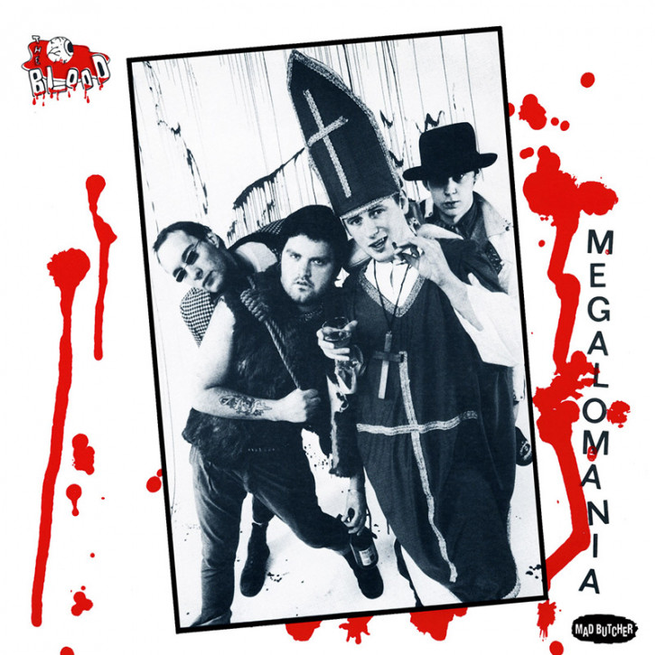 THE BLOOD MEGALOMANIA EP