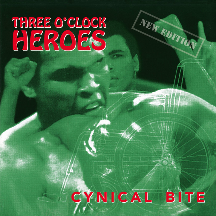 THREE O`CLOCK HEROES CYNICAL BITE LP