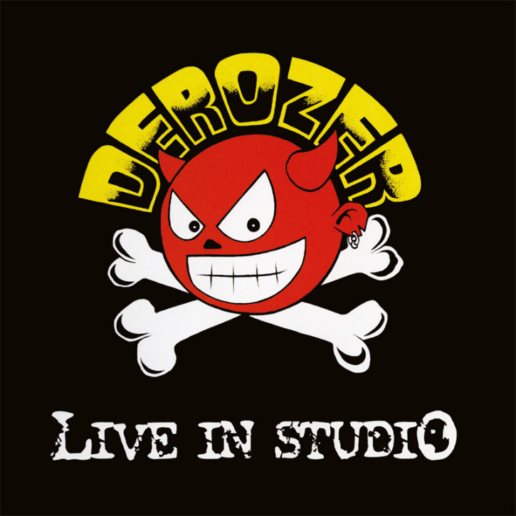 DEROZER LIVE IN STUDIO LP