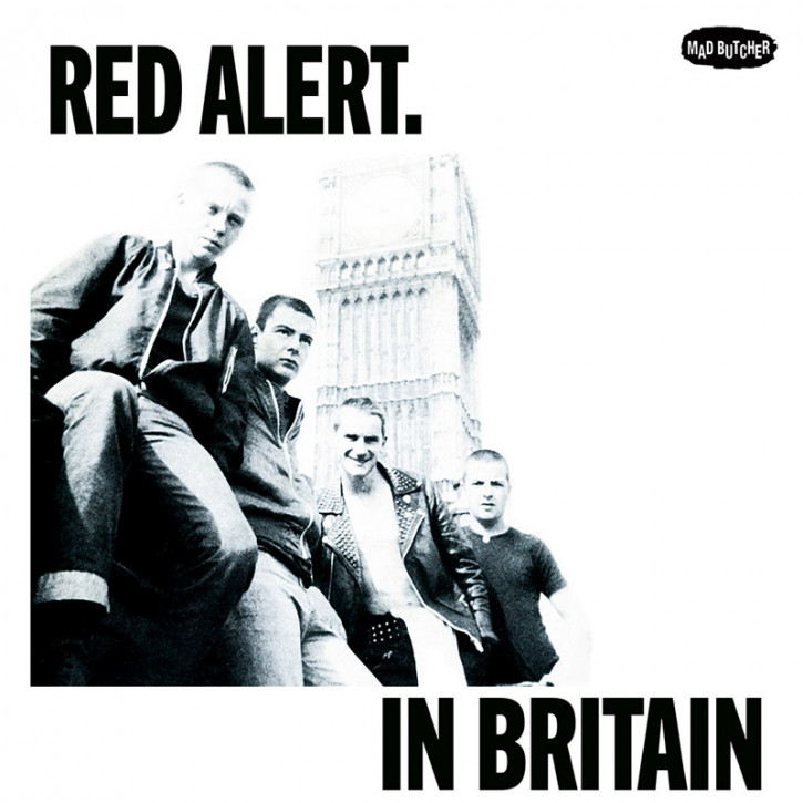 RED ALERT IN BRITAIN EP VINYL SCHWARZ