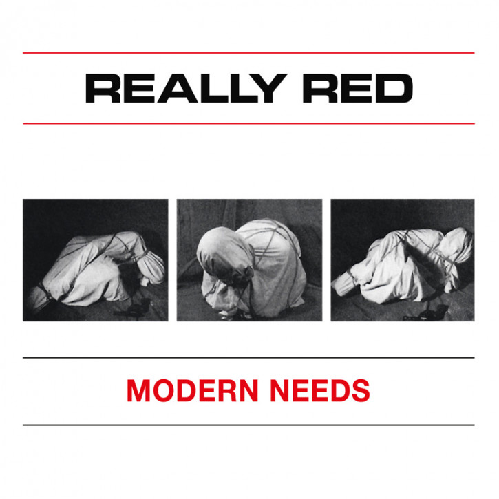 REALLY RED MODERN NEEDS 7 VINYL SCHWARZ