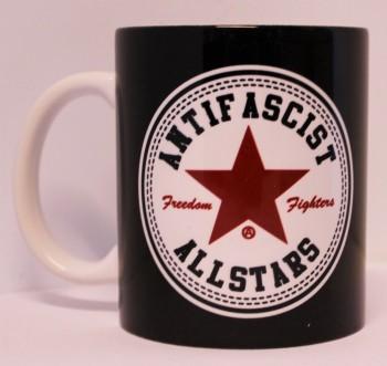 ANTIFASCIST ALLSTARS KAFFEEBECHER (RED)