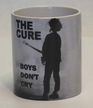THE CURE BOYS DON`T CRY KAFFEEBECHER