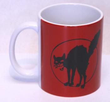 ANARCHO CAT KAFFEEBECHER
