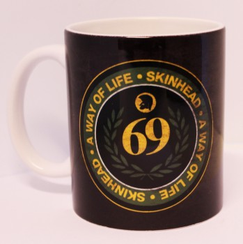69 SKINHEAD A WAY OF LIFE KAFFEEBECHER