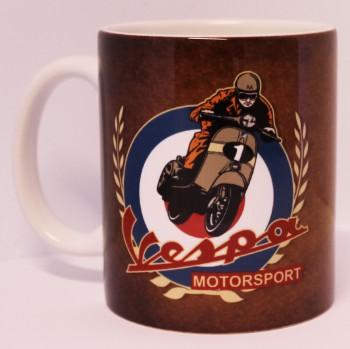 VESPA MOTORSPORT KAFFEEBECHER