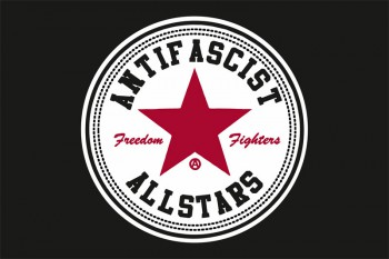 ANTIFASCIST ALLSTARS FLAG