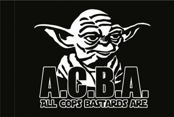 ALL COPS BASTARDS ARE (ACAB) FLAG