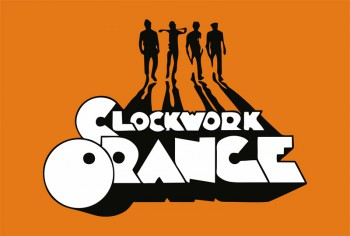 CLOCKWORK ORANGE FLAGGE