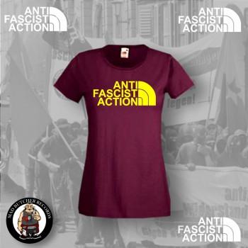 ANTI FASCIST ACTION GIRLIE ROT