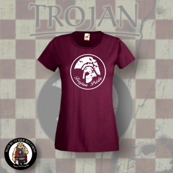 TROJAN PRIDE GIRLIE RED