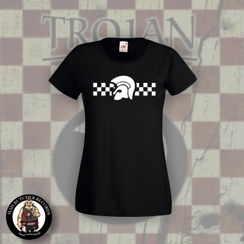 TROJAN 2TONE GIRLIE BLACK