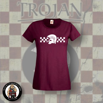 TROJAN 2TONE GIRLIE RED