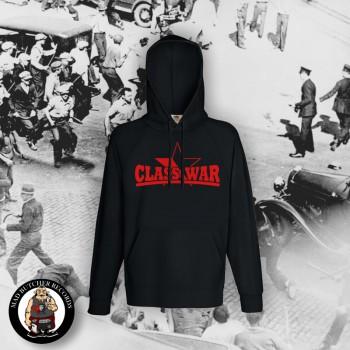 CLASSWAR RED/BLACK STAR HOOD