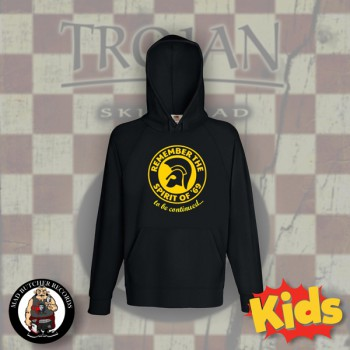 REMEMBER THE SPIRIT OF 69 KIDS HOOD (BLACK) 164