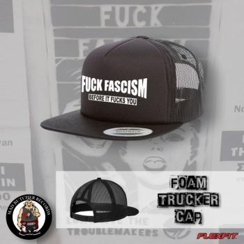 FUCK FASCISM BEFORE IT FUCKS YOU MESH CAP