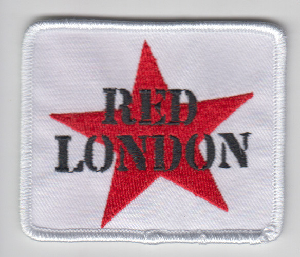 RED LONDON WHITE PATCH
