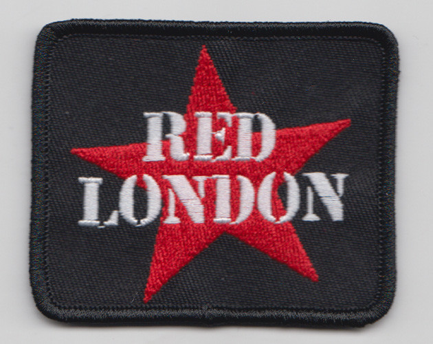 RED LONDON BLACK PATCH