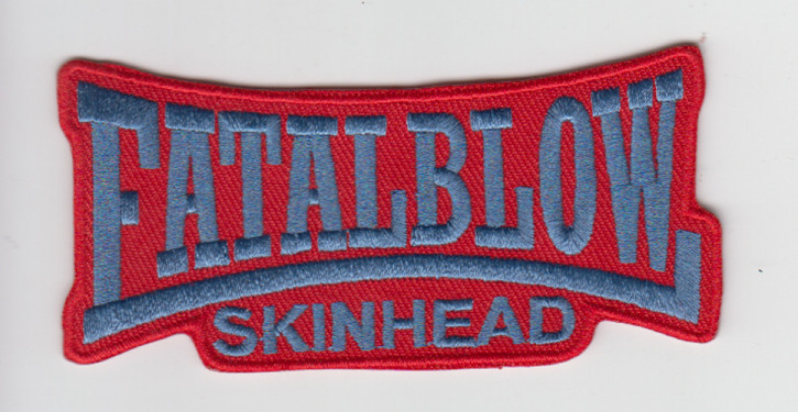 FATAL BLOW RED PATCH