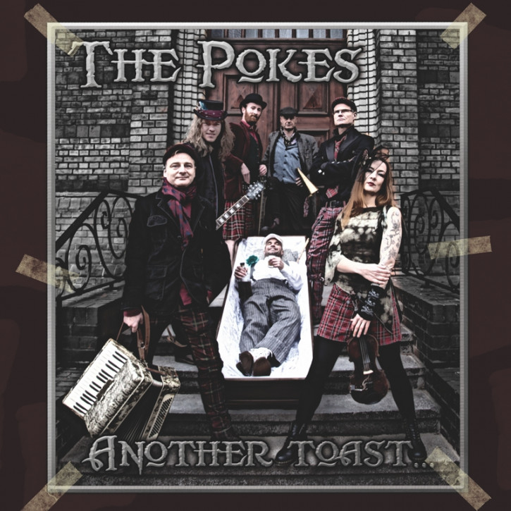 THE POKES ANOTHER TOAST CD