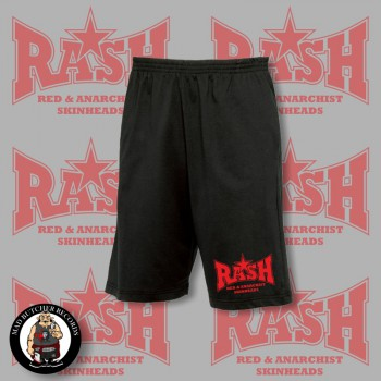 RASH RED/BLACK STAR SHORTS L