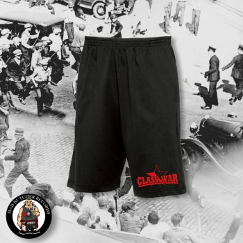 CLASSWAR RED/BLACK STAR SHORTS XL