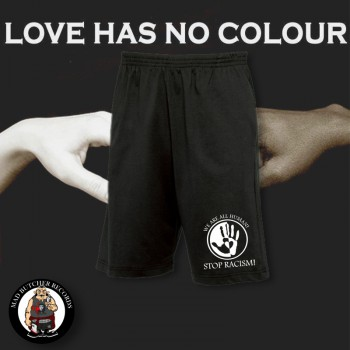 LOVE HAS NO COLOUR SHORTS