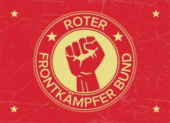 ROTER FRONTKÄMPFERBUND STICKER (10 UNITS)