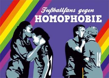 FUSSBALLFANS GEGEN HOMOPHOBIE STICKER (10 STÜCK)