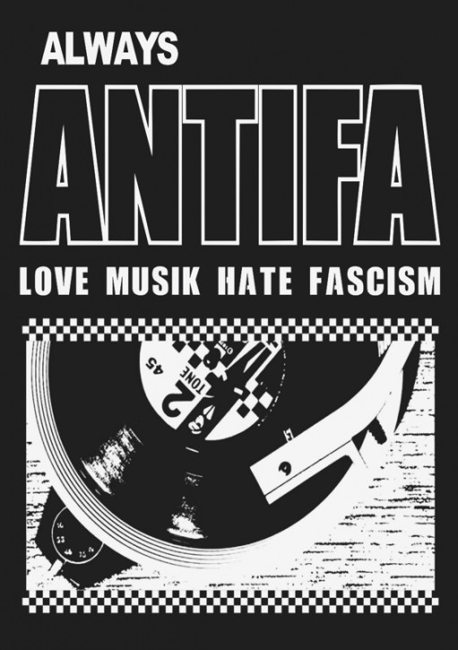 ALWAYS ANTIFA STICKER (10 units)