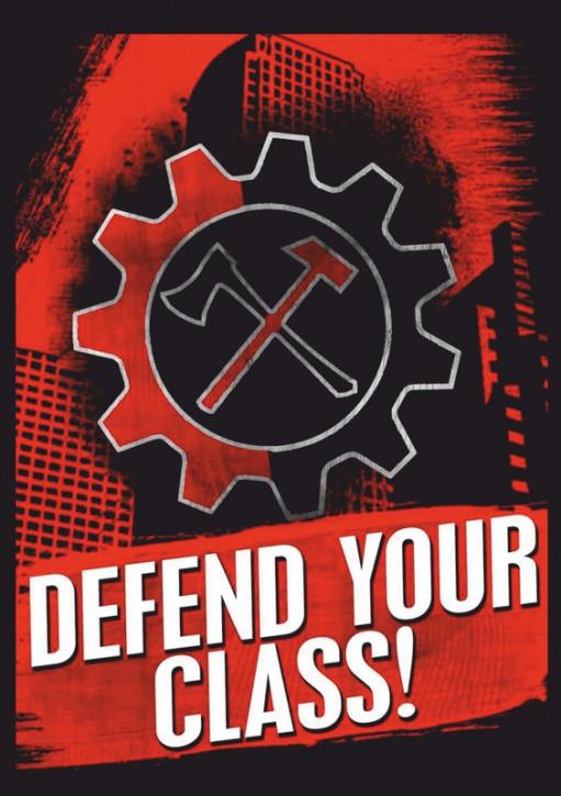 DEFEND YOUR CLASS AUFKLEBER (10 Stück)