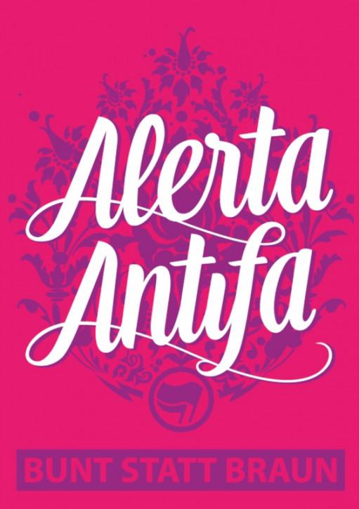 ALERTA ANTIFA AUFKLEBER (10 Stück)