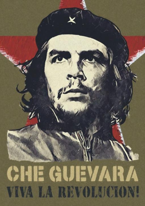 CHE GUEVARA VIVA LA REVOLUCION AUFKLEBER (10 Stück)