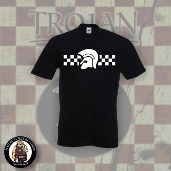 TROJAN 2TONE T-SHIRT BLACK