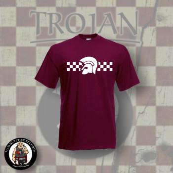 TROJAN 2TONE T-SHIRT RED
