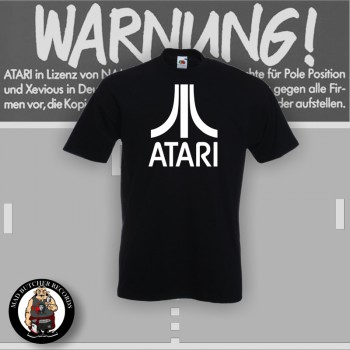 ATARI T-SHIRT SCHWARZ